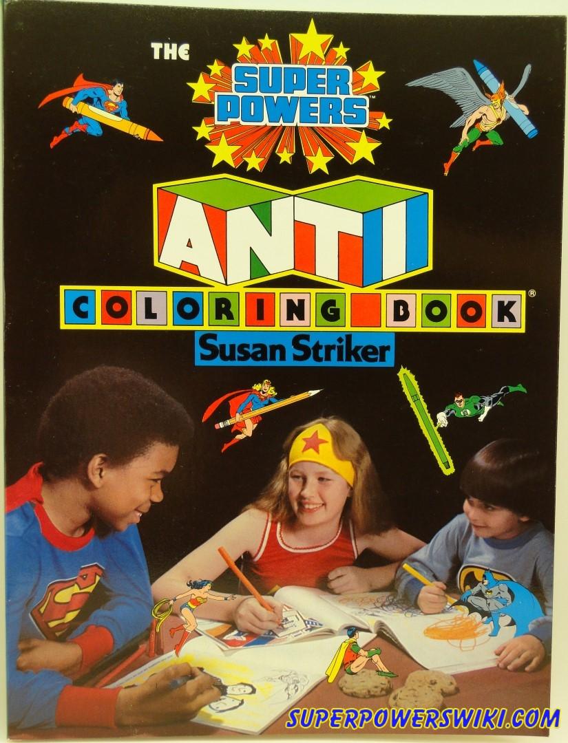 Susan Striker Anti Coloring Pages